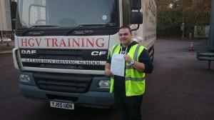 Luke morris passes practical driving test
