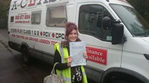 Sophie philpotts passing driving test