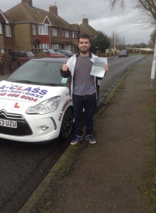 Dale wood passes driving test