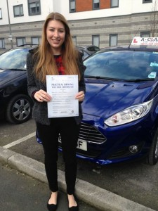 Abie Morris Passes driving Test