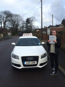 Hannah Passes Driving Test