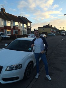 Leonard Lee Passes Driving Test
