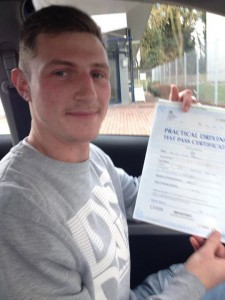 Sam Passes Driving Test