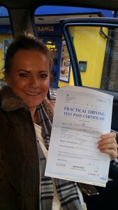 Congratulations to my mobility pupil Leah who passed at Maidstone Test Centre with 5 driver faults
