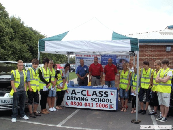 A class driving school roadshow in gillingham roadshow for Motor city driving school